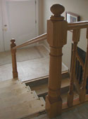 handrail with spindles removed